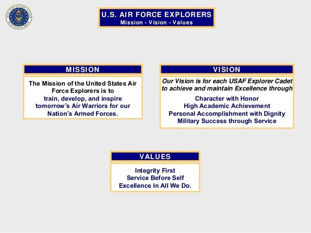 air force vision statement