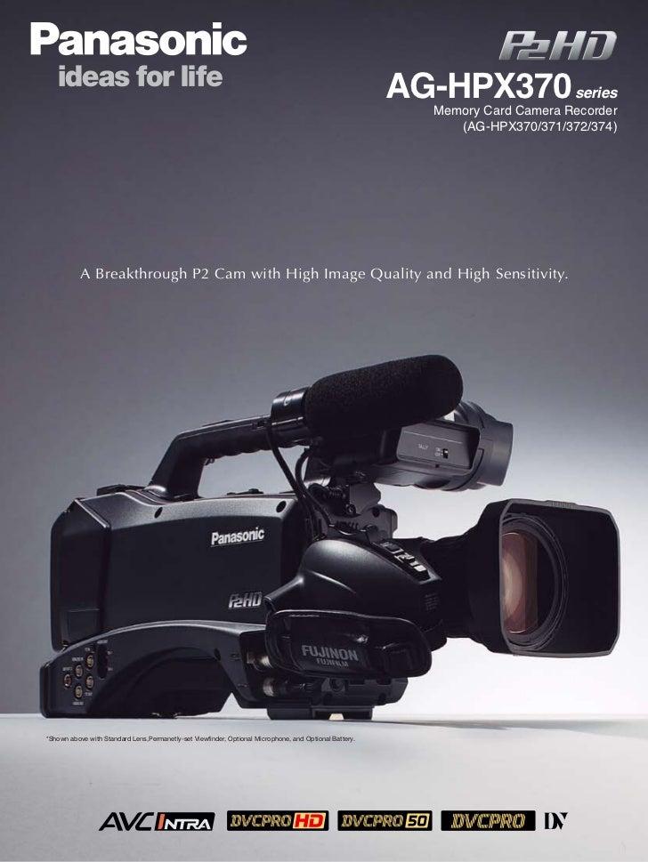 AG-HPX370 series                                                                                                          ...