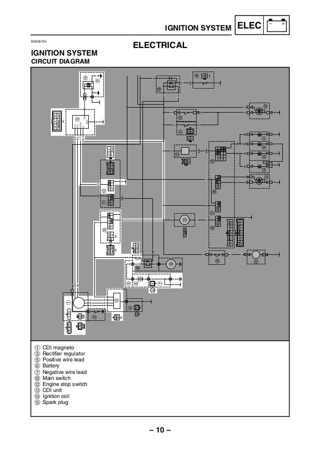 Yamaha Cdi Ignition Wiring Diagram