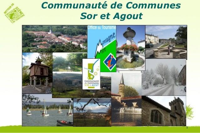 Communauté de Communes     Sor et Agout                         1