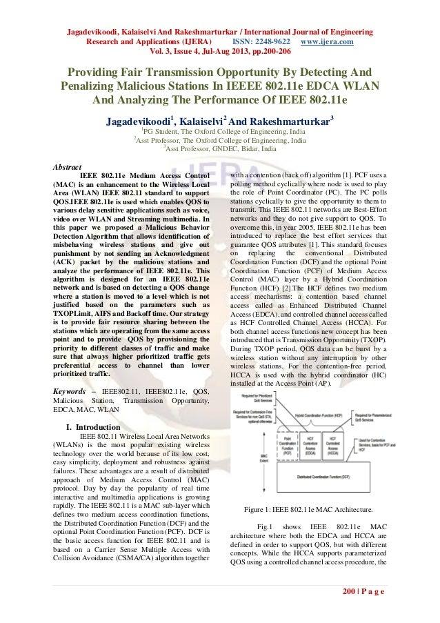 Jagadevikoodi, Kalaiselvi And Rakeshmarturkar / International Journal of Engineering Research and Applications (IJERA) ISS...