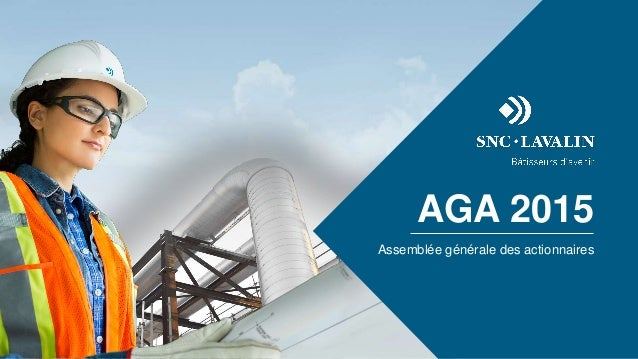 AGA 2015 Assemblée générale des actionnaires