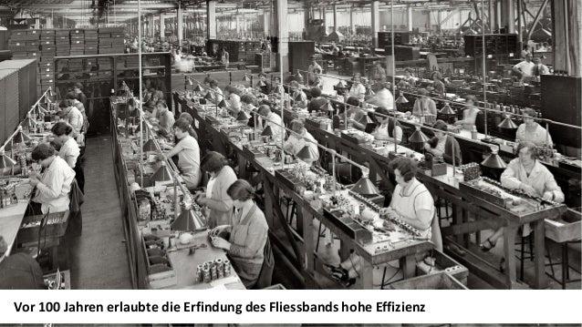 Seite 211.12.2017 | Portfolio Joël Krapf Vor 100 Jahren erlaubte die Erfindung des Fliessbands hohe Effizienz
