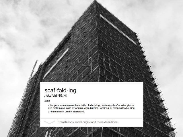 Scaffolding can create points of entry and access but can also reduce the complexity of learning to its detriment. We desi...