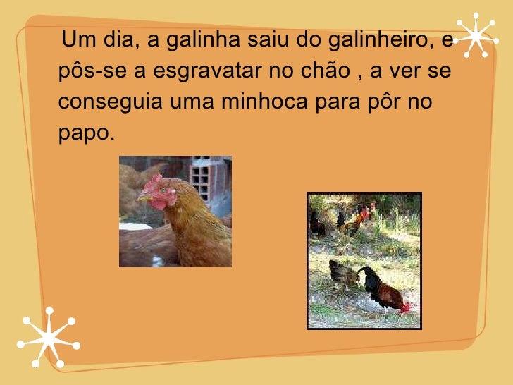 A galinha medrosa Slide 3