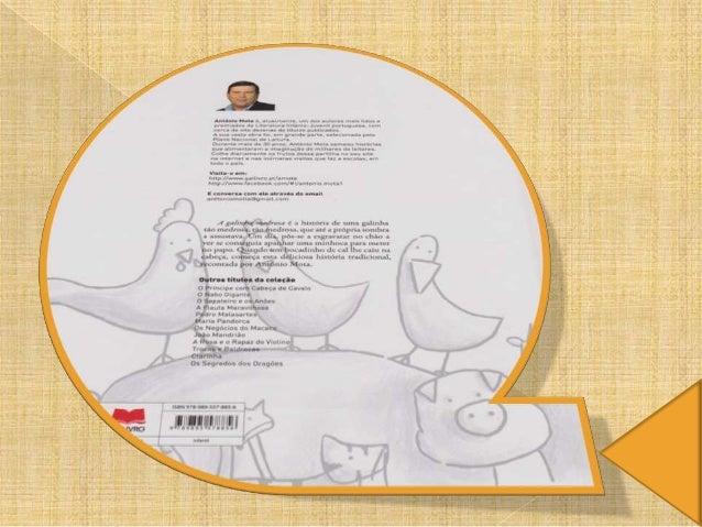 A galinha medrosa de antonio mota