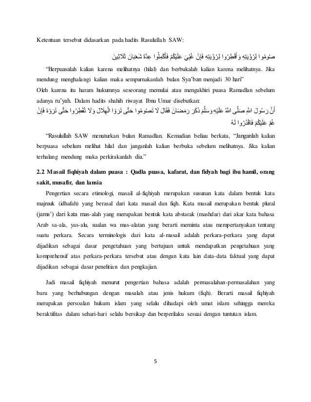 Agama 3 Sesi 2 Kelompok 2 Puasa Bulan Ramadhan