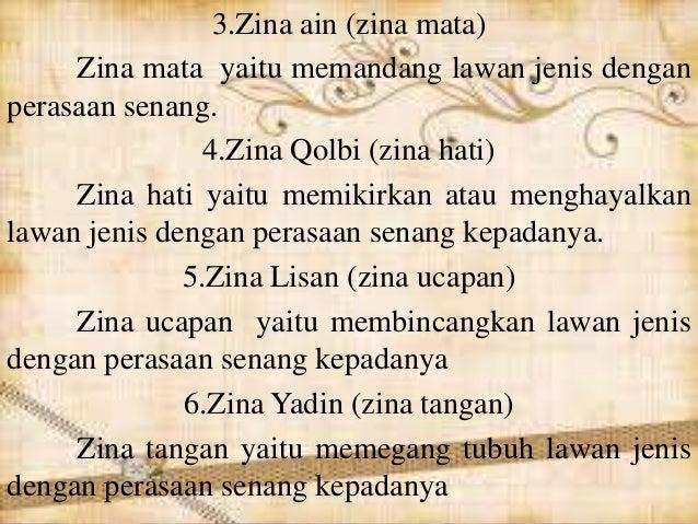 Pantun Zina Agama Bab Macam Macam Zina 626