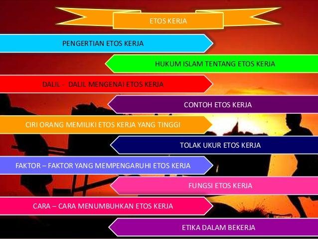 Etos Kerja dalam Islam Slide 3