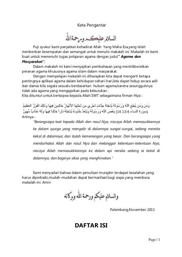 Agama Islam Dan Budaya