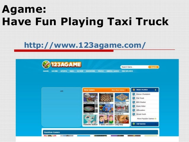 Agame:Have Fun Playing Taxi Truckhttp://www.123agame.com/