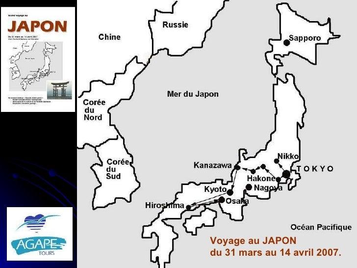 Voyage au JAPON du 31 mars au 14 avril 2007.