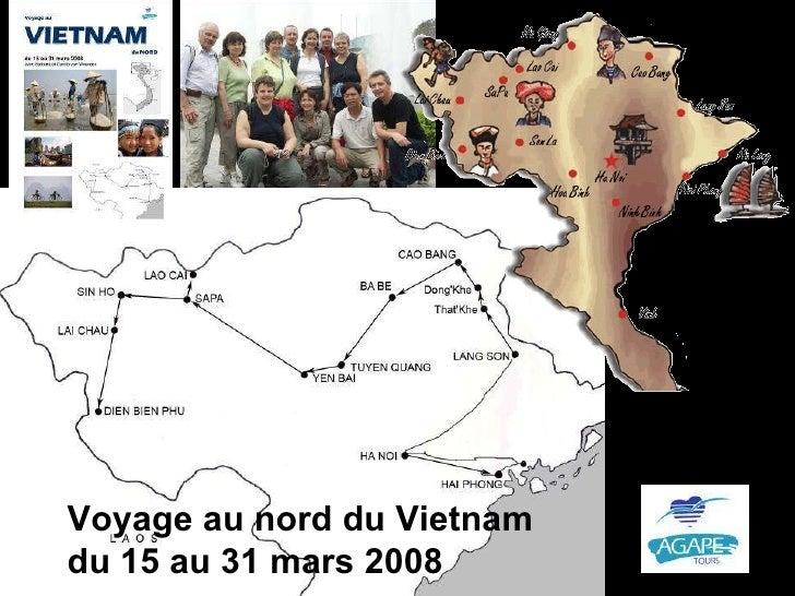 Voyage au nord du Vietnam du 15 au 31 mars 2008