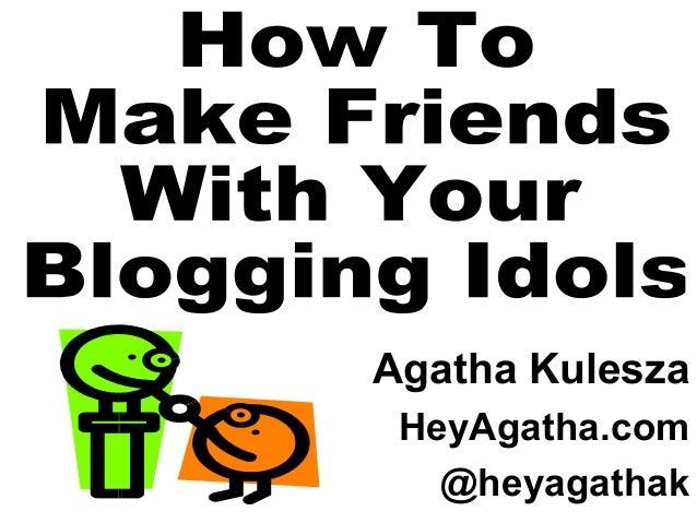 Agatha Kulesza HeyAgatha.com @heyagathak