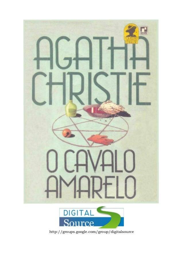 Agatha christie   o cavalo amarelo