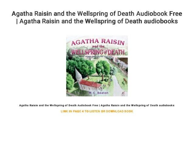 agatha raisin audio books in order