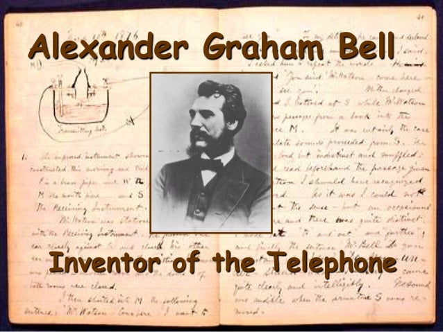 alexander graham bell invents the telephone Alexander graham bell invented the telephone in the year of 1876, when he was only 29 years of age  in may of 1874, bell invents the telephone.