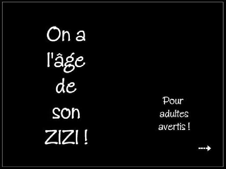 Age De Son Zizi