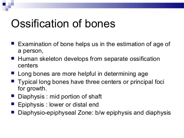 medico legal importance of bones essay Bones is indicated only if it was in the best interests of the individual patient and would help in surgical management and that radiographs were not a medico-legal requirement.