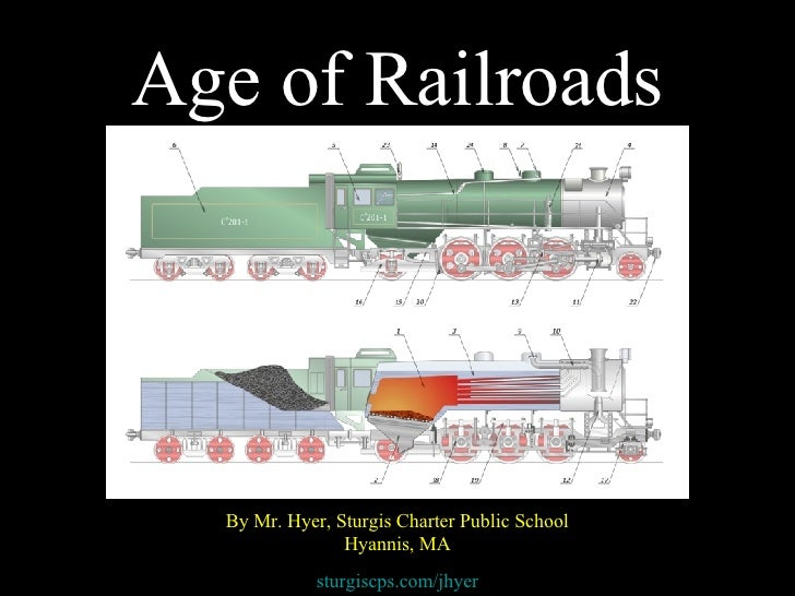 Age of Railroads By Mr. Hyer, Sturgis Charter Public School Hyannis, MA sturgiscps.com/jhyer