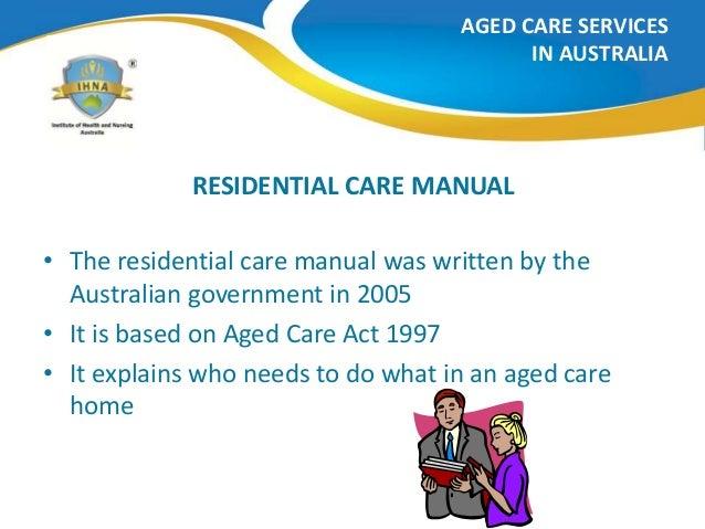 manual handling hazards in aged care work