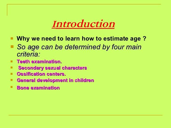 Age determination   prof.enas Slide 2