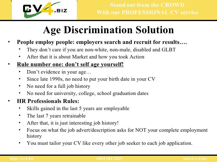 age discrimination how to avoid it
