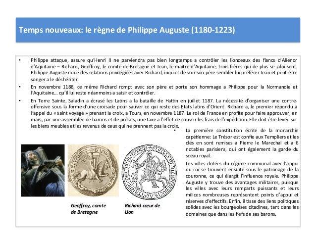• La  première  cons5tu5on  écrite  de  la  monarchie capé5enne: Le Trésor est confie aux Templi...