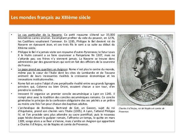 Les mondes français au XIIIème siècle • Le  cas  par5culier  de  la  Navarre:  Ce  pe5t  roya...