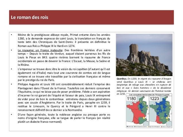 Le roman des rois Queribus. En 1239, le régent du royaume d'Aragon vend  Queribus  a  Louis...