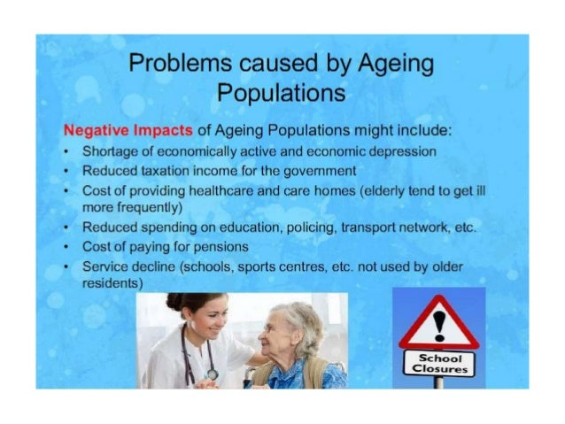 aging population in canada essay Free essay: the aging effects of canada's population it was 1947, world war ii had finally come to a halt and canadian soldiers were sent home the large.