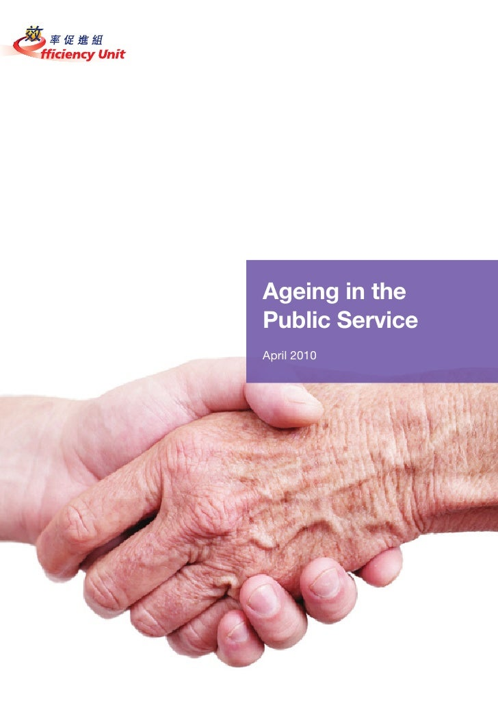 Ageing in the Public Service April 2010