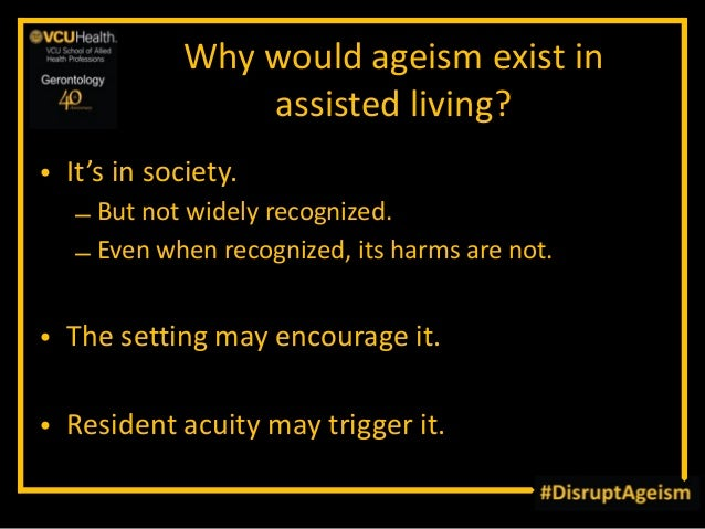 Examples of ageism in society