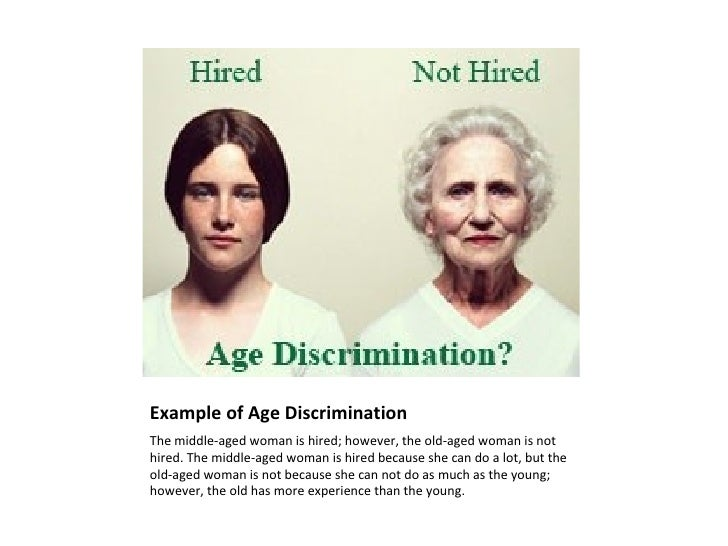 ageism in workplace Social and economic controversies surrounding age discrimination by employers in the workplace is becoming a major social problem.