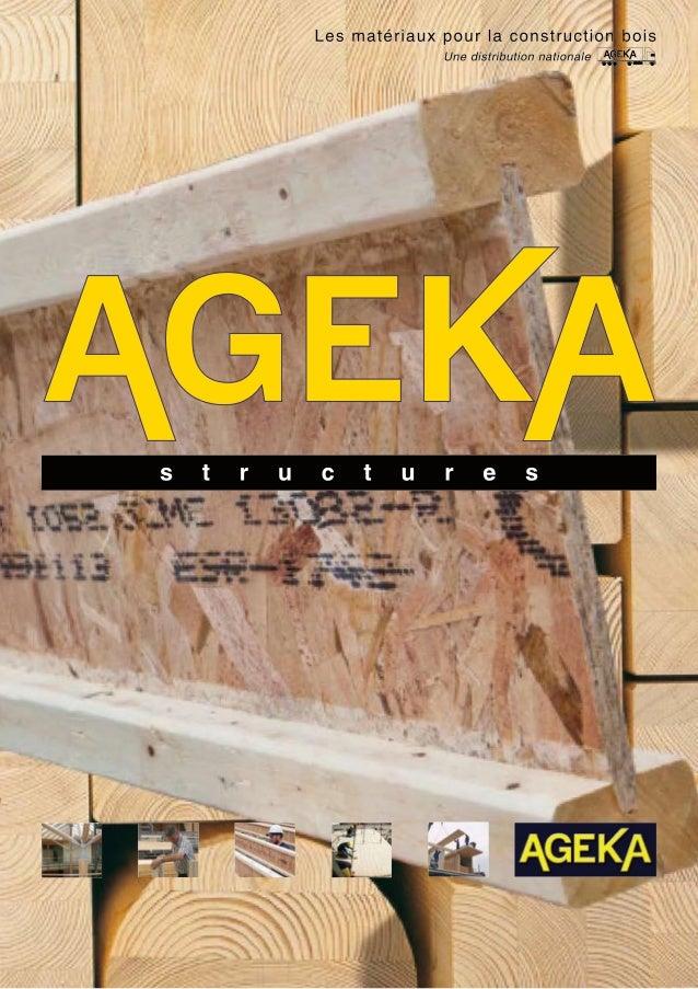 Une gamme complète de matériaux  pour la construction bois.  Nos produits  Panneaux OSB  pages 4 à 5  Panneaux 3 plis  pag...