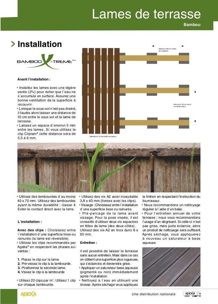 BambouInstallation                                                                                       Maximum 60 cm ent...