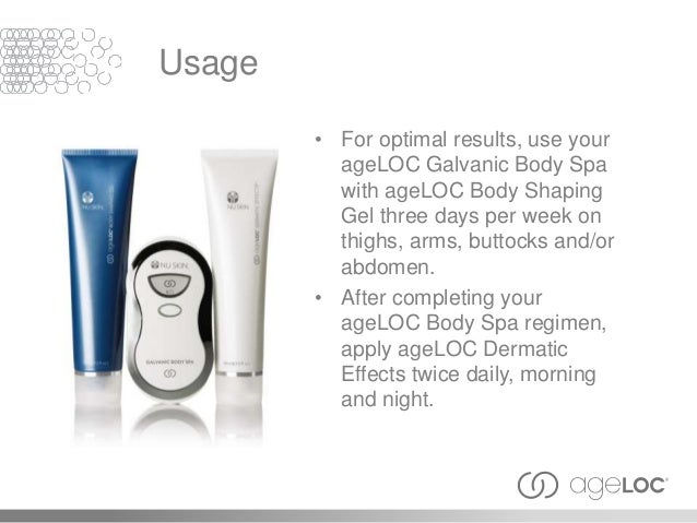 How To Use Galvanic Spa Body Shaping Gel