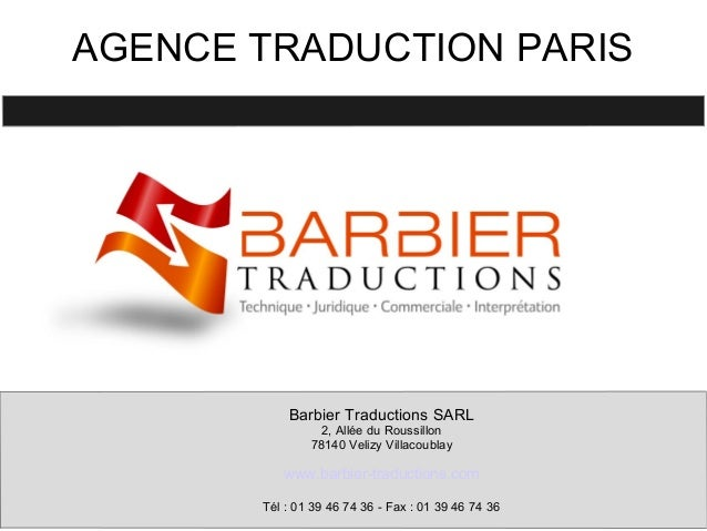 Agence traduction paris for Agence francaise du paysage velizy