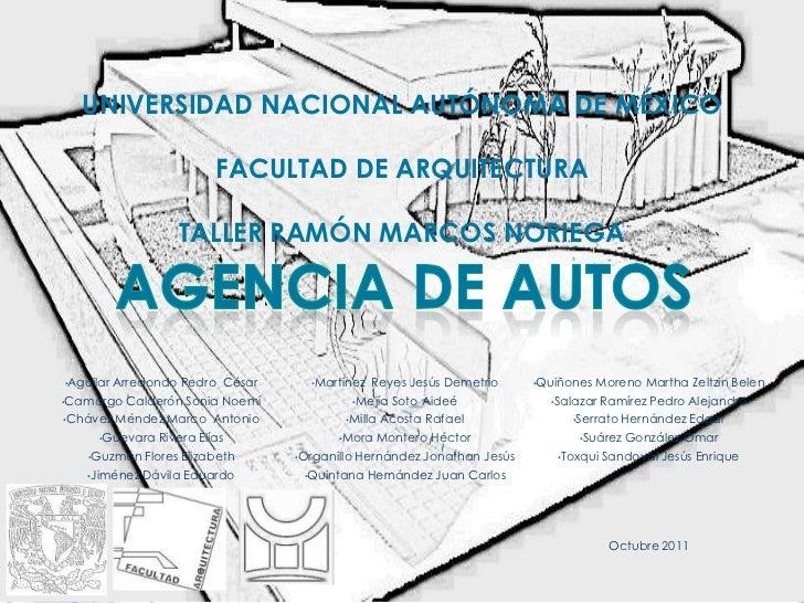 Agencia de autos for Busco arquitecto para proyecto