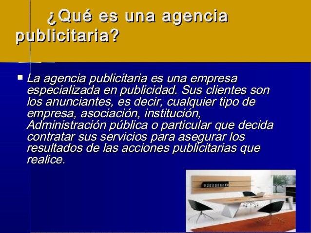 Agencia de  publicidad   la campaña publicitaria -tipos Slide 2