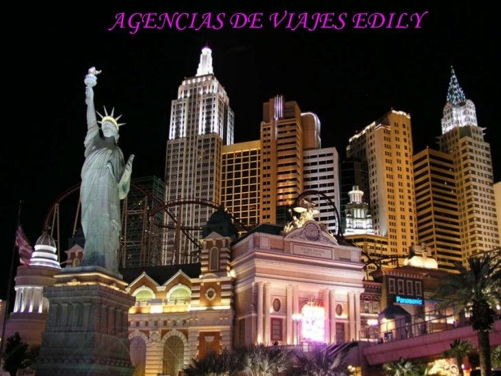 AGENCIAS DE VIAJES EDILY