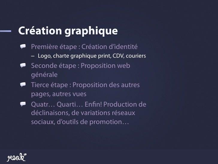 !  Première étape : Création d'identité   – Logo, charte graphique print, CDV, couriers!  Seconde étape : Proposition w...