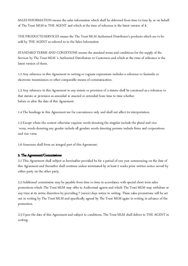 Extended promotional dating agreements
