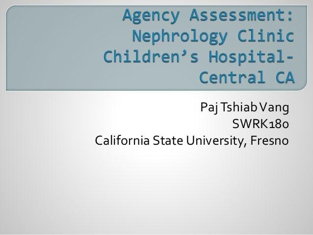 PajTshiabVang SWRK180 California State University, Fresno