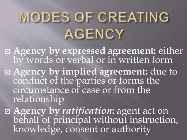 Agency Business Organization