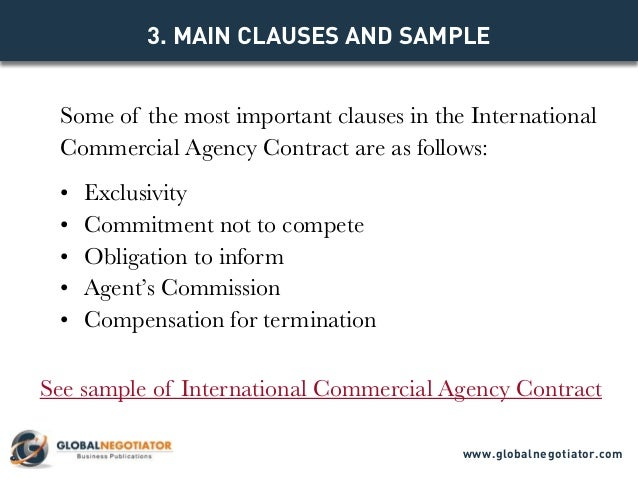 PARTIES TO THE CONTRACT Www.globalnegotiator.com; 4.