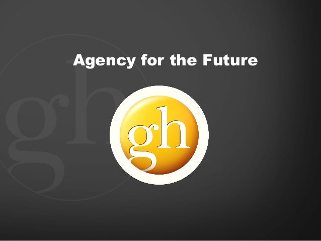 Agency for the Future
