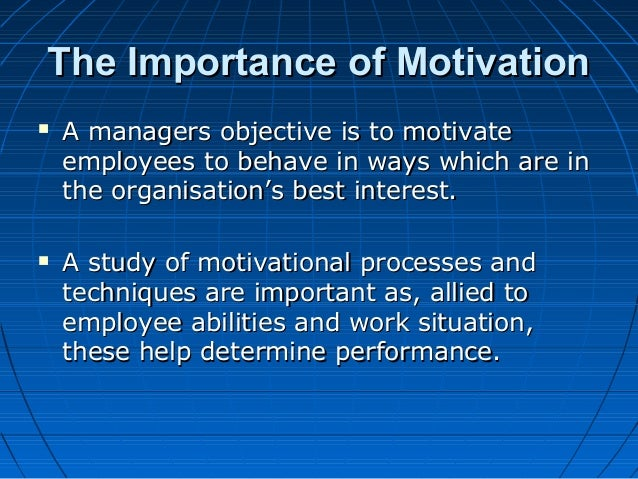 evaluating the role of leadership and management role in employee motivation Leadership qualities  the crucial role of some knowledge management activities such as  leadership behaviours that stimulate employee motivation and.