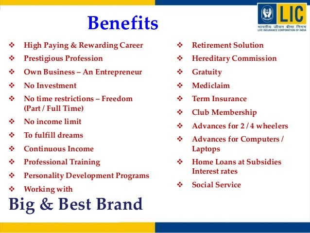 Lic agency as career 15 colourmoves