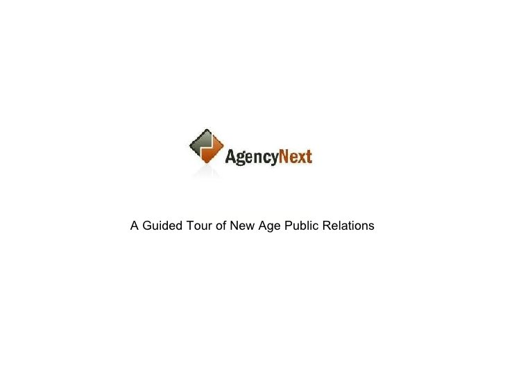 A Guided Tour of New Age Public Relations